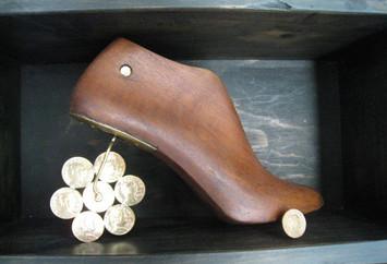 Zapatos y Lotería - Detalle 2