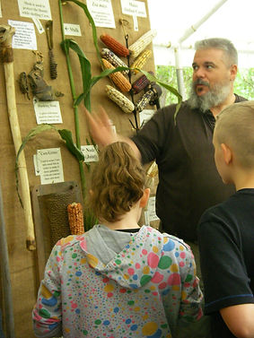 pioneer corn demonstration, Kentucky archaeology, pioneer technology