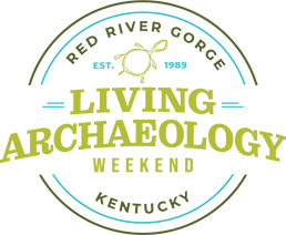 Living Archaeology Weekend round logo
