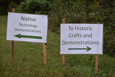 Signs for Native and Historic Technology