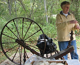 Living Archaeology Weekend, Kentucky archaeology, pioneer technology