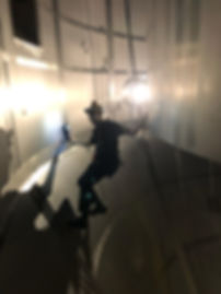 rope access, spray dryer inspections
