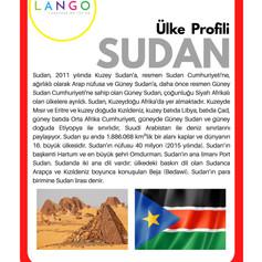 Country Profile SUDAN