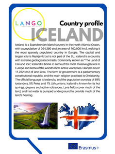 Country Profile Iceland