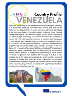 Country profile Venezuela