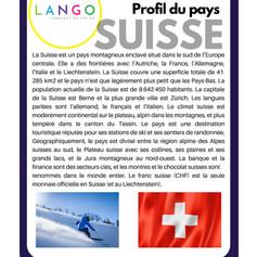 Country Profile Switzerland