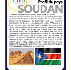 Country Profile Soudan