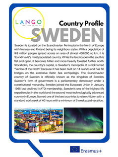 Country Profile Sweden