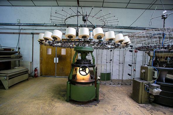 Original Albi, circular knitting machine.