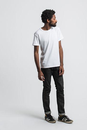 t shirt français maison cornichon blanc
