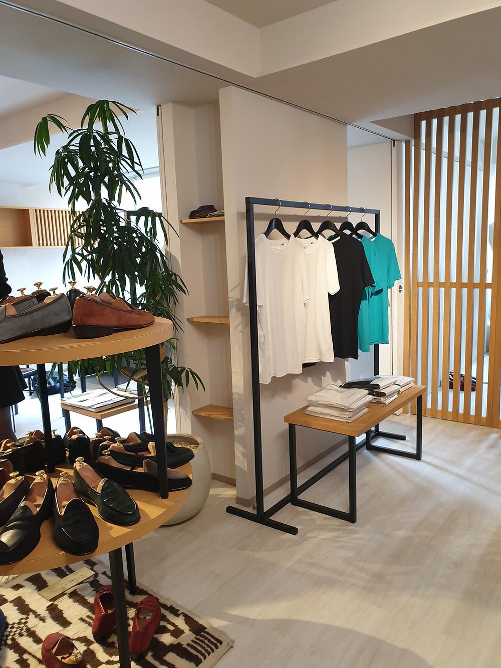 Showroom HAM&EGG, Shibuya.
