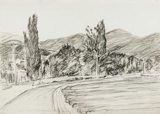 LT. Weg naar Rousset-les-Vignes. 42x29,5