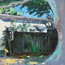 Huis achter Font-de-Barrel