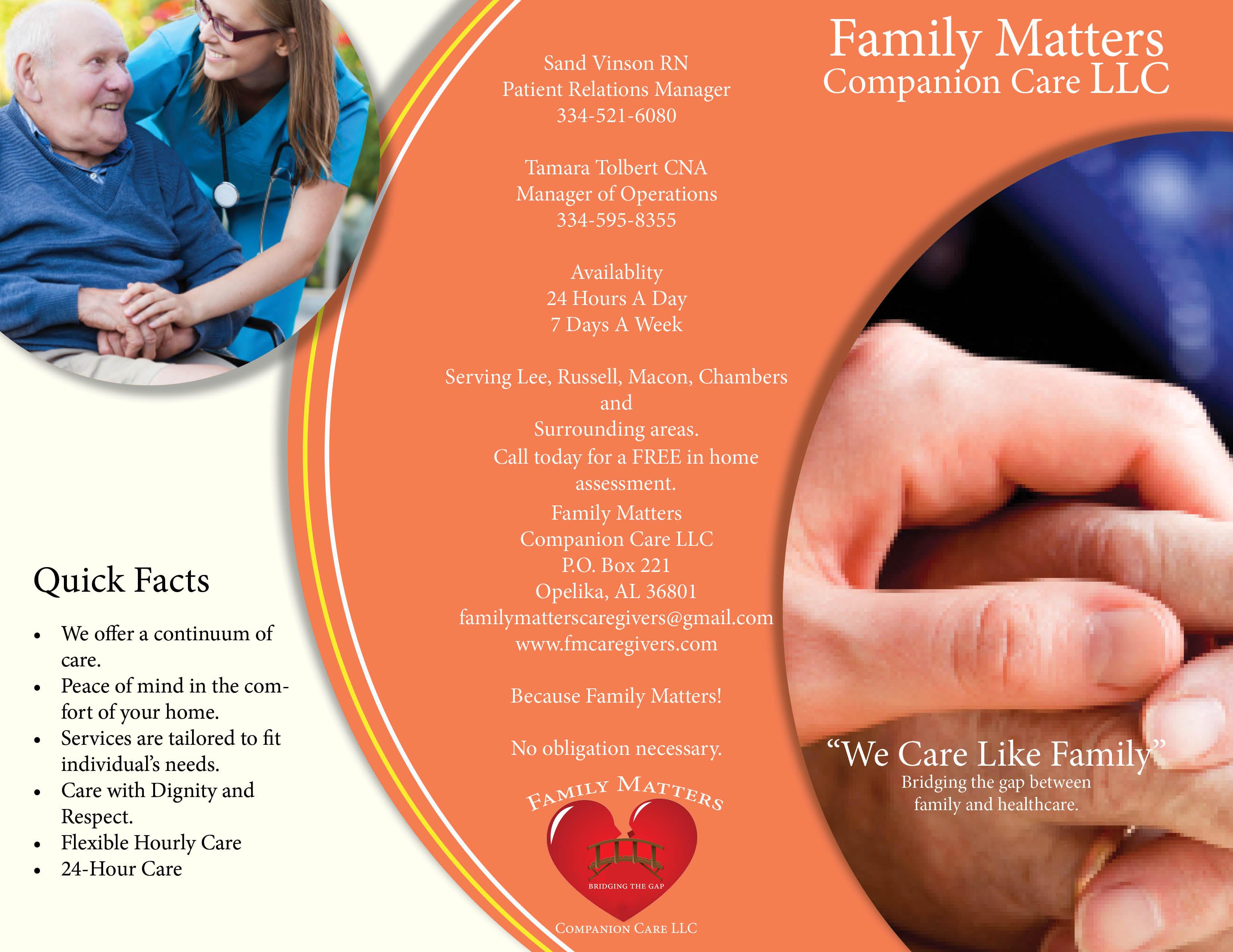 Family Matters Brochure
