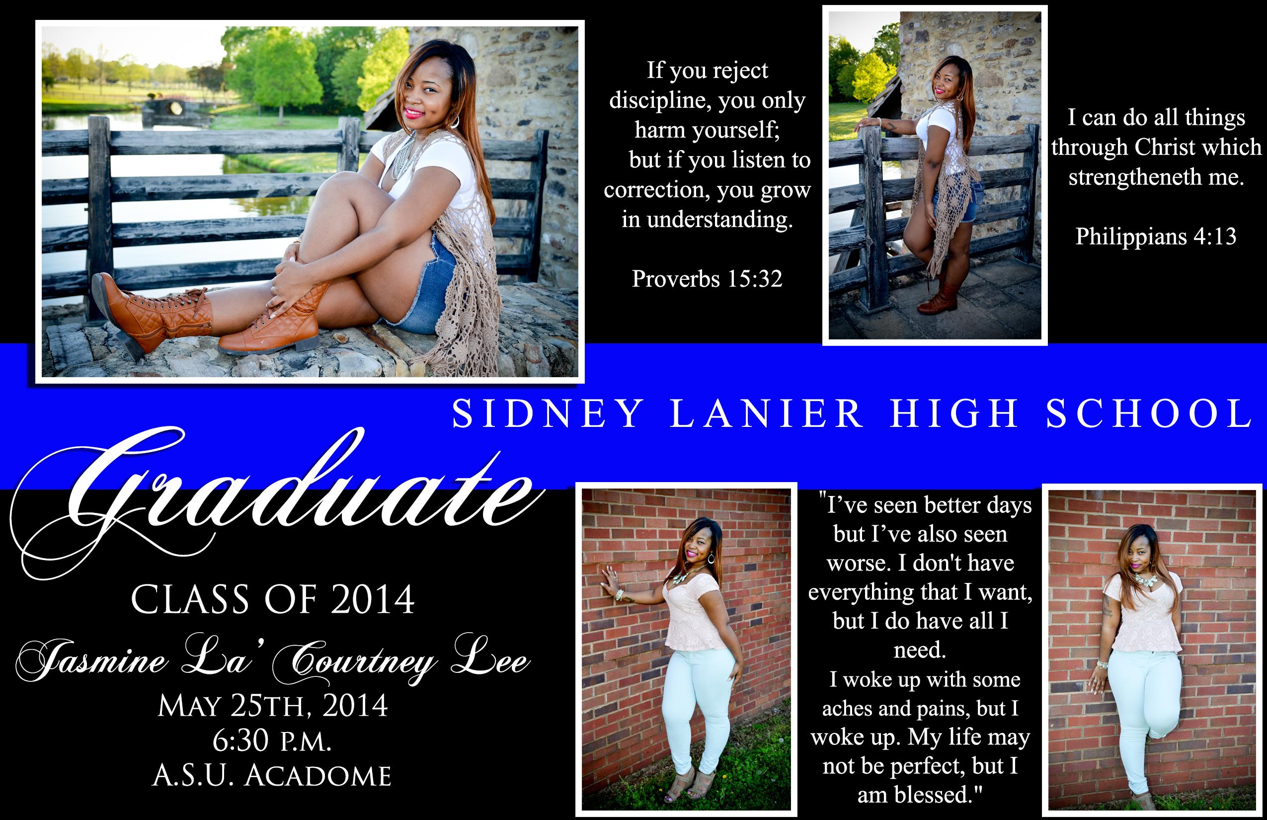 Jasmine Lee Invitation