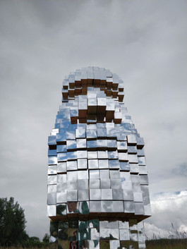 Истукан в Этномире   son architecture