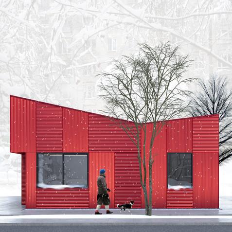 Пункт приема вторсырья | son architecture