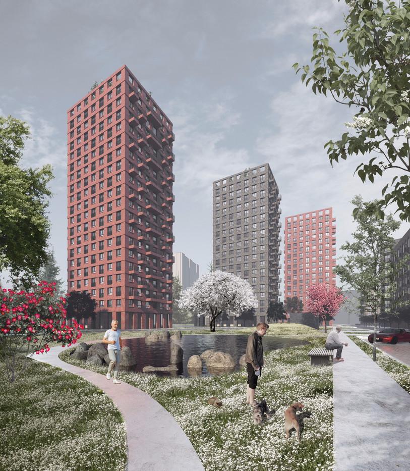 Жк в Ижевске | son architecture
