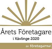 Årets Företagare logotyp Kävlinge 202