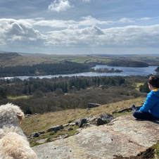 Kate Brimacombe - Natural Environment - Admiring the view at Burrator.jpg