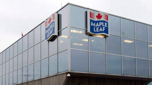 A Maple Leaf Foods plan in Toronto.