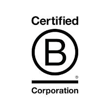 Image of certified B corporation logo.