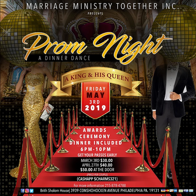 Married Ministry Social Media Flyer
