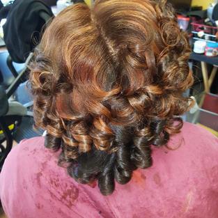 Custom Color Press & Curl