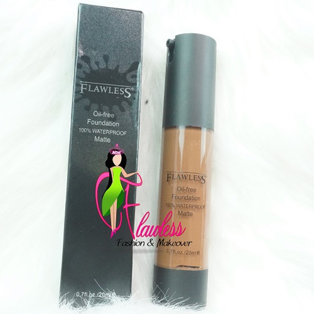You can take away our pride, but not Flawless Ivy [Matte Oil Free Foundation]