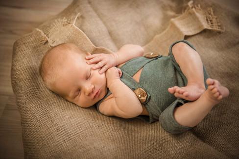 Neugeborenes Babyfotos Köln Vintage