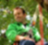 ERWANN GRUEL EDUCATEUR GRIMPE D'ARBRES ANIMATEUR CHASSE AU TRESOR ET ESCAPE GAME