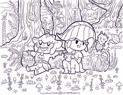 Link and Sidon Forest