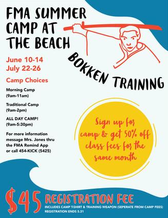 Summer Camp Flier