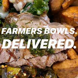 FARMERS BOWLS. DELIVERED.