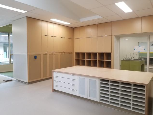 Teacher Work Spaces