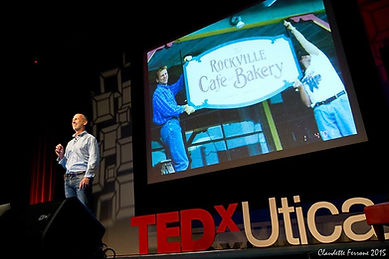 Garth Roberts speaking TEDxUtica