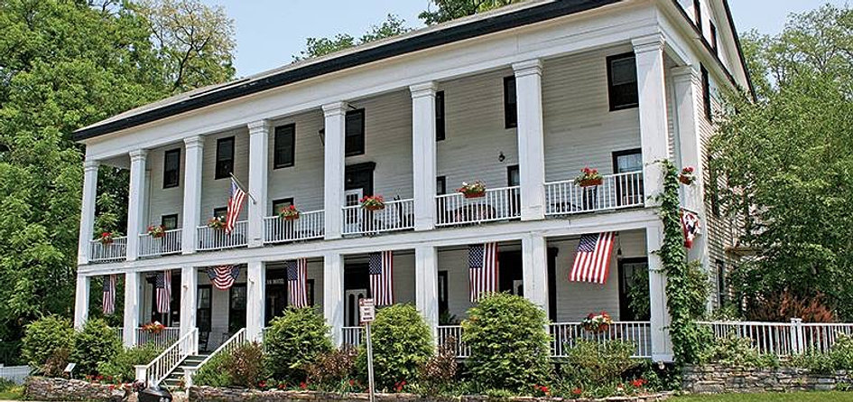 American Hotel Sharon Springs New York And