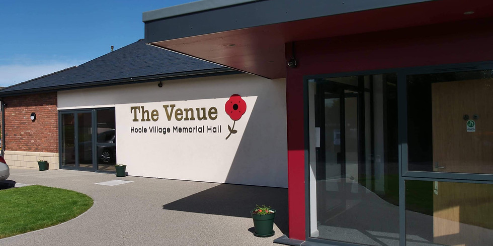 OCT 8TH - THE VENUE, MUCH HOOLE