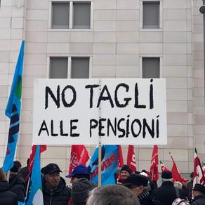I sindacati scendono in piazza