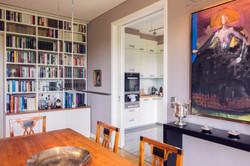 Esszimmer mit Blick zur Küche
