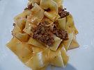 פפרדלה ברוטב בשר טחון מאומבריה