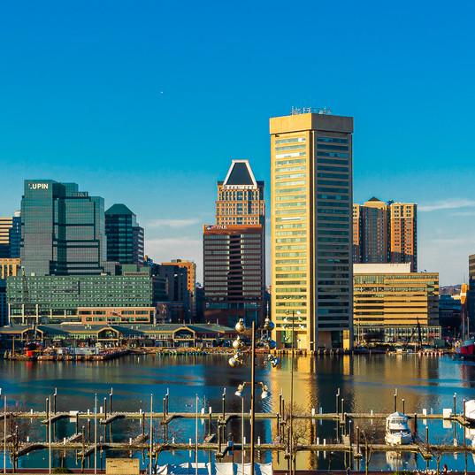 Baltimore Harbor scape