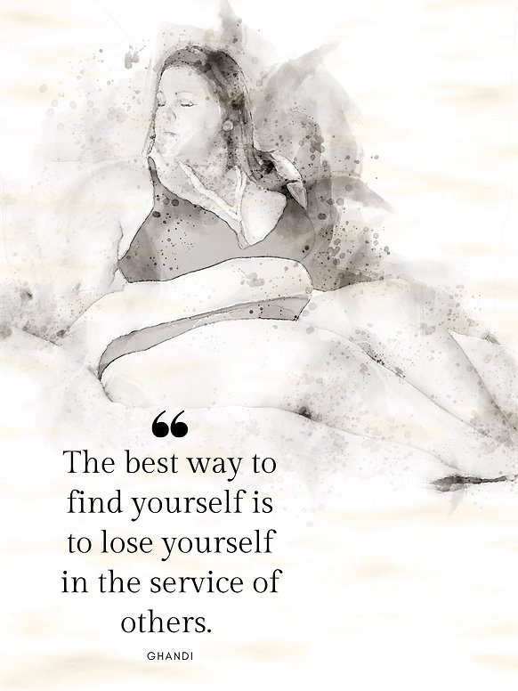 The best way to find yourself is to lose