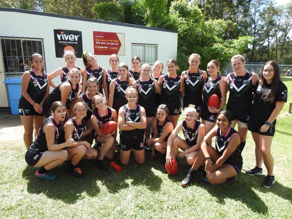 The Merged side 'Great Pirates' U17 Girls 2019