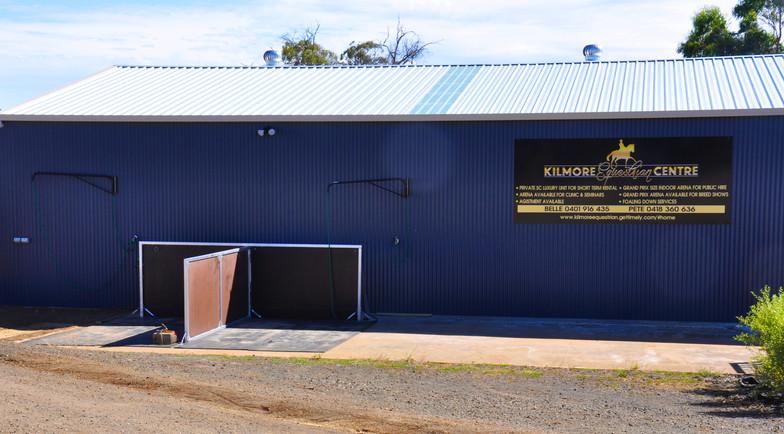 SSA Facilities wash bay