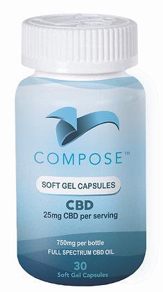 Compose Soft Gel Capsules 30 Count