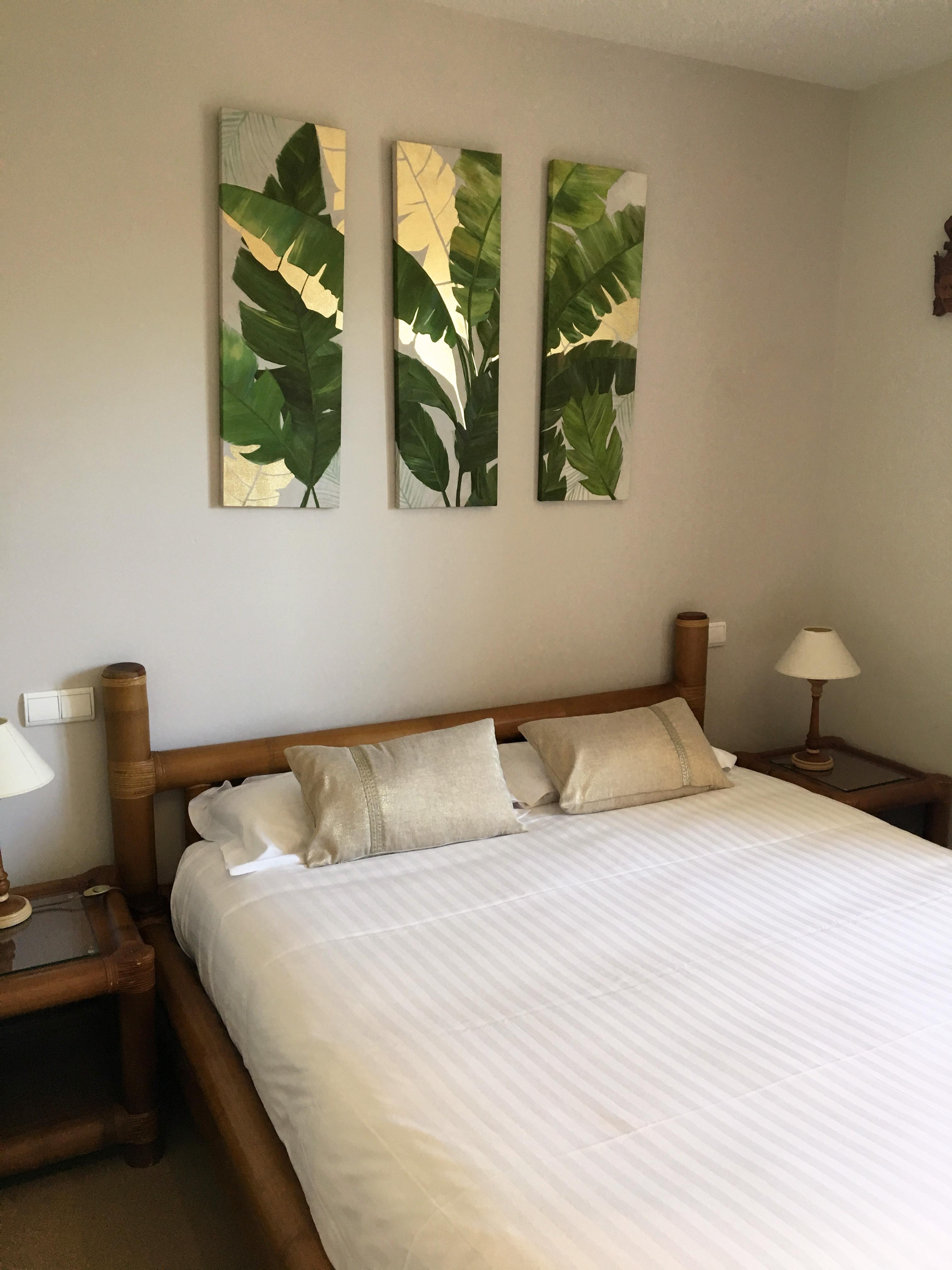 Palm Bedroom Santa Lucia Hotel