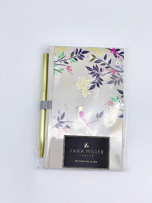 Carnet de notes et stylo Sara Miller