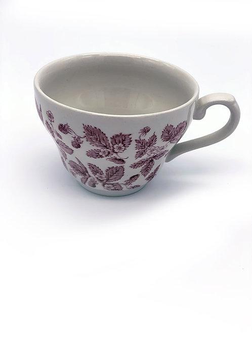 Tasse à Thé Cranberry Willow Georgian 19,8cl