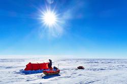 Ski South Pole B 2 by Carl AlveyALE